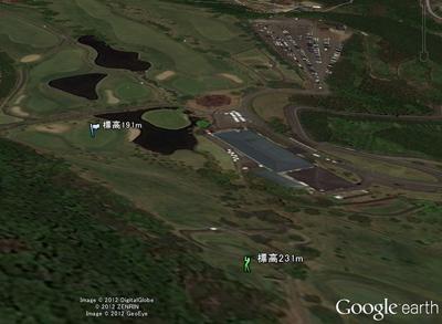 鶴ヶ島ゴルフ倶楽部 西コース 9番ホール(埼玉県)