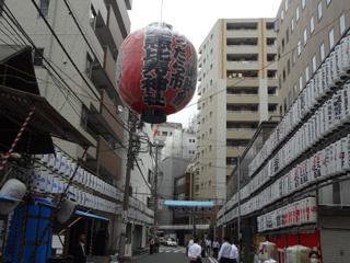 日本橋地区の一大イベント、「べったら市」