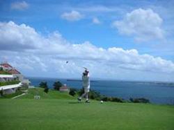 沖縄でゴルフをしてきました